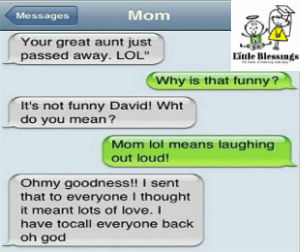 funniest text messages from parents