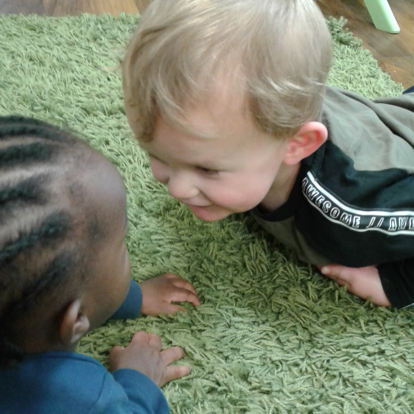 Babies playing - Little Blessings nursery south croydon